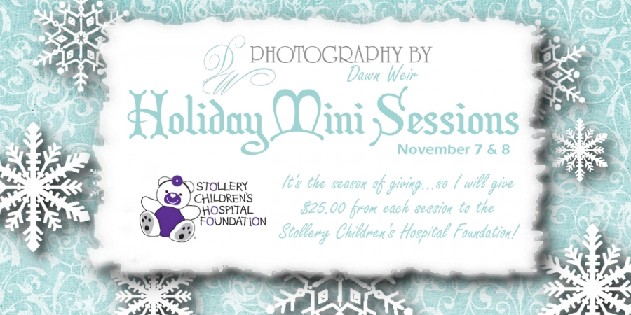 Christmas Holiday Mini Sessions