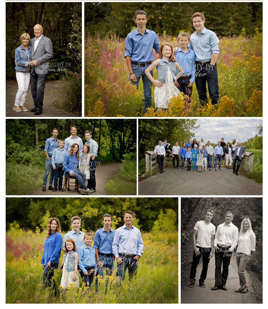 st albert family fall photography location grandin pond