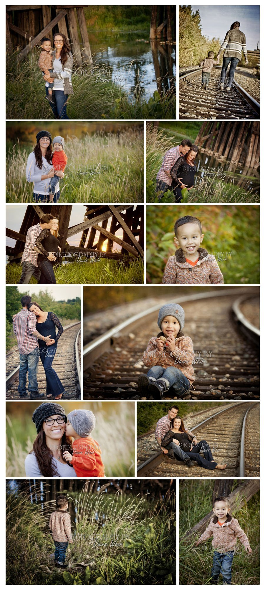 Fall Family Photo Session St. Albert