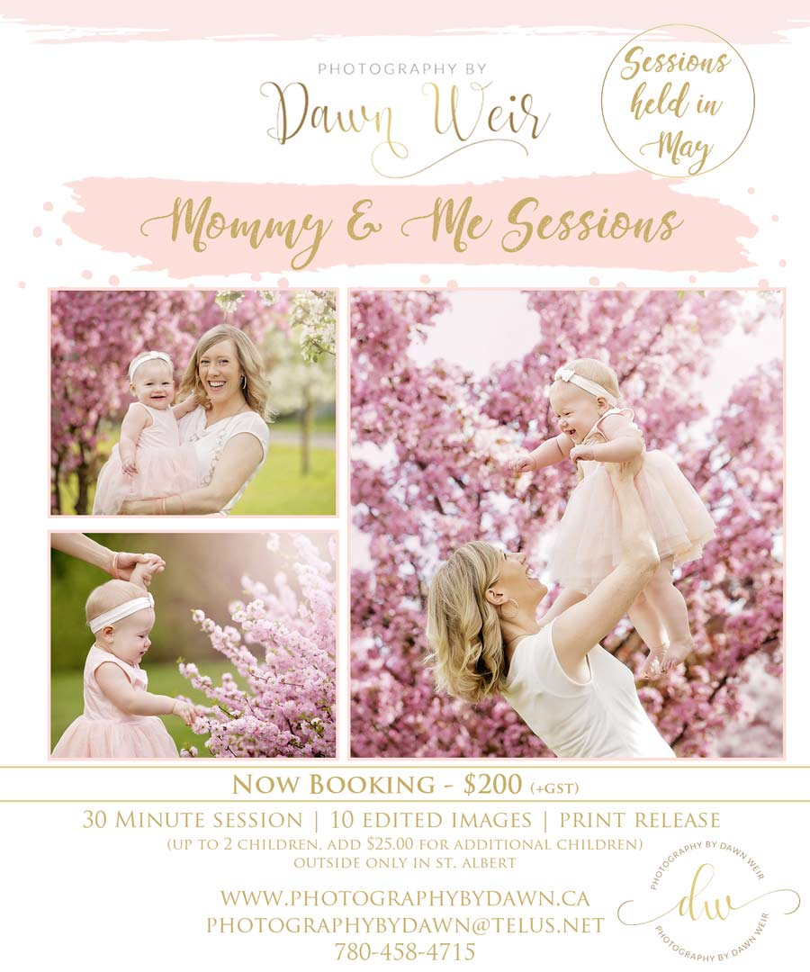 st albert mommy and me mini sessions
