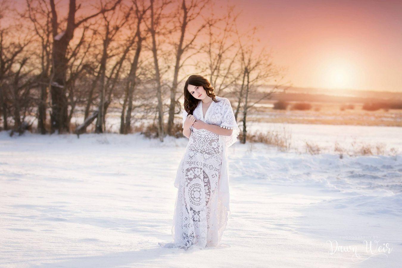 photo-by-edmonton-model-photographer-dawn-weir-reclamation-dress-winter-sunset