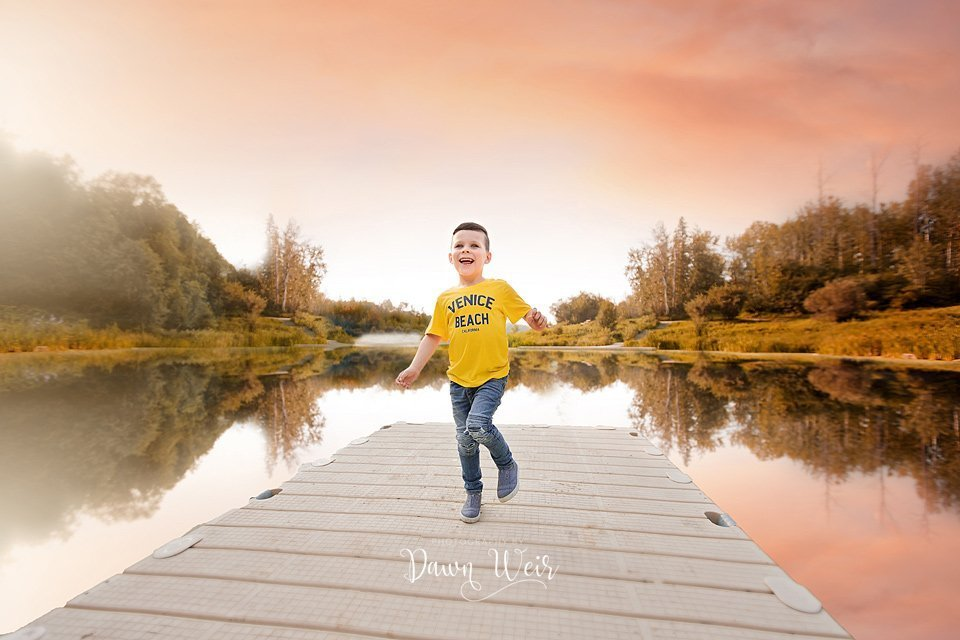 by dawn weir family fall photography location chickacoo lake