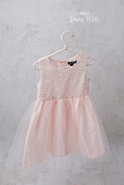 edmonton child photographer pink dress