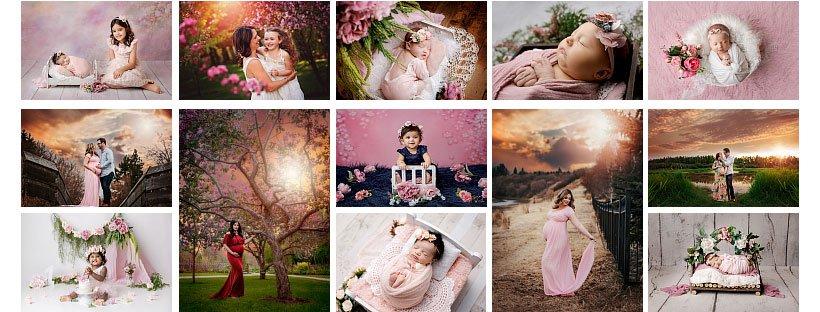 edmonton-newborn-photography-pink-colors